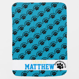 Approved Baby born in Dog Year 2018 Name Blanket 2
