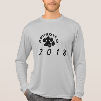 Approved Chinese Dog Year 2018 long sleeves Tee