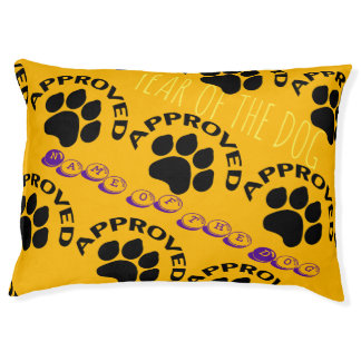 Approved Chinese Dog Year 2018 Personalized Bed 2