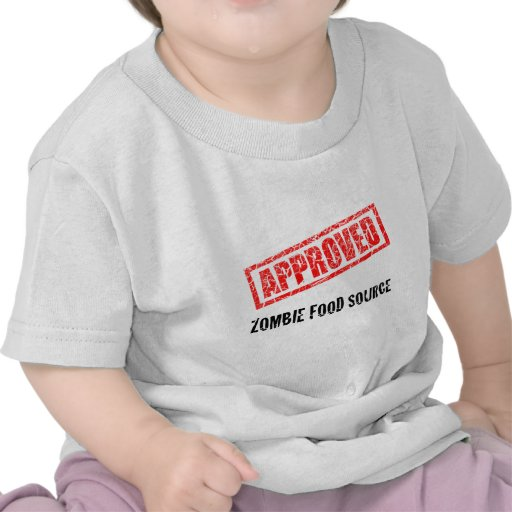 APPROVED Zombie Food Source T Shirts