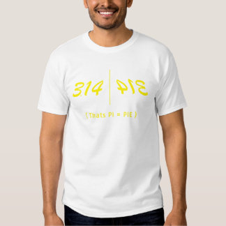 Approximate PI Tees