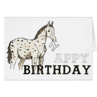 'Appy Birthday' Card