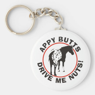 Appy Butts Drive Me Nuts Key Ring