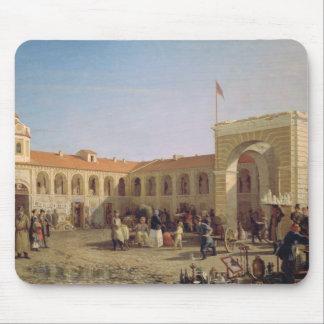 Apraksin Market in St. Petersburg, 1862 Mouse Pad