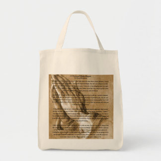Aprayer Tote bag