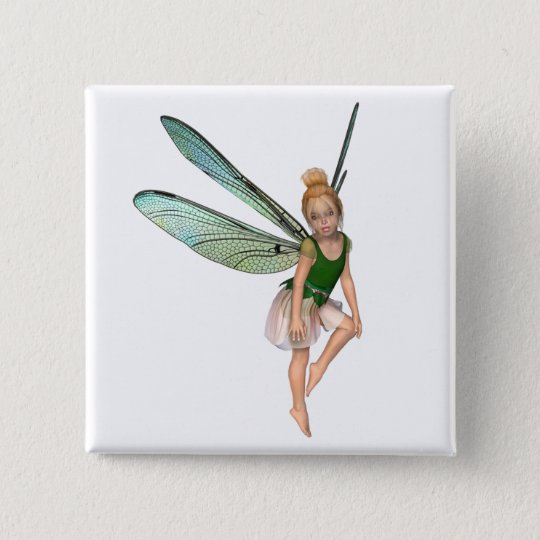 Aprella Fairy 15 Cm Square Badge