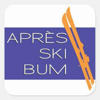 Apres Ski Bum Sticker