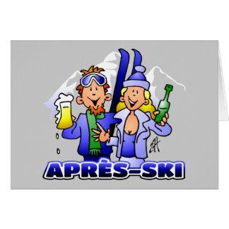 Après-ski Cards