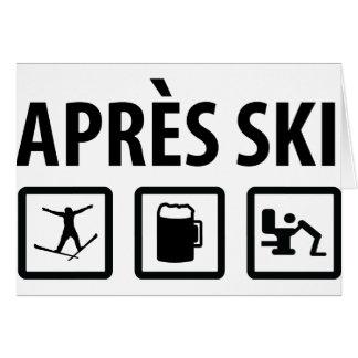 apres ski card