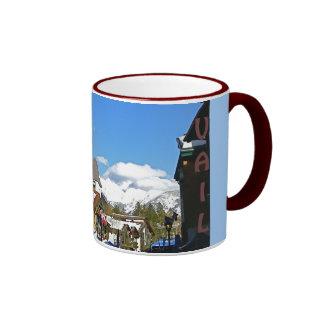 Apres Ski in Vail Ringer Coffee Mug
