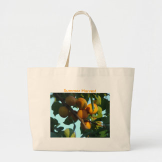 Apricot Cluster, Summer Harvest Jumbo Tote Bag
