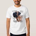 Apricot Mastiff FAQ shirt
