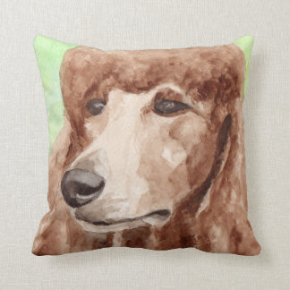 Apricot Poodle Gifts Cushion