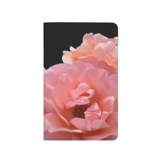 Apricot Rose I Photo Notebook Journals