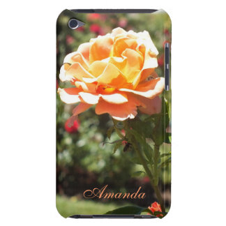 Apricot Rose iPod Touch case *personalize*