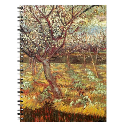 Apricot Trees in Blossom by Van Gogh Notebooks