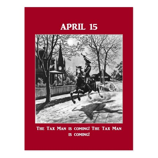 april-15-the-tax-man-is-coming post cards
