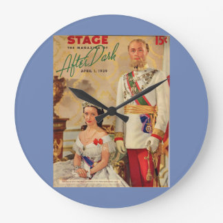 April 1939 Stage Magazine cover Large Clock
