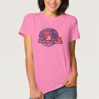 April 22 Earth Day(Need your Heart)T-shirts T-shirt