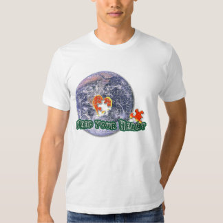 April 22 Earth Day(Need your Heart)T-shirts T-shirts