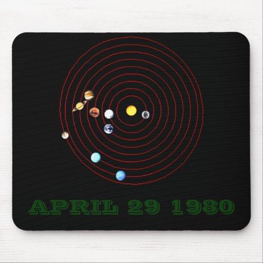 APRIL 29 1980 MOUSE MAT