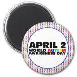 April 2 refrigerator magnet