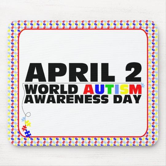 April 2, World Autism Awareness Day Mouse Pad
