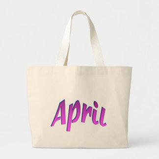 April Tote Bags