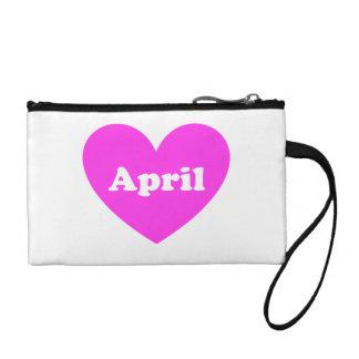 April Coin Purses