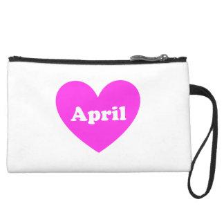 April Wristlet Clutches