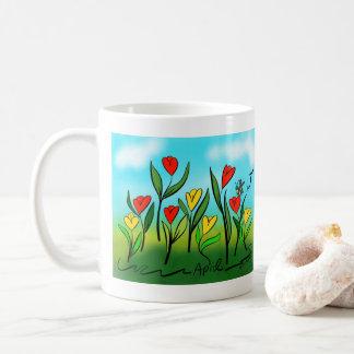 April Coffee Mug