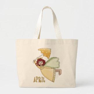 April Fairy Tote Bags