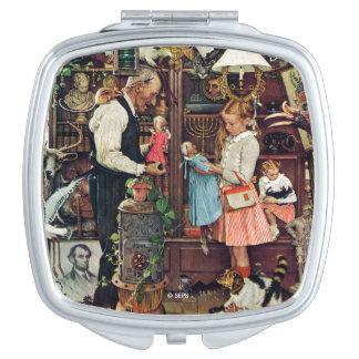 April Fool, 1948 Makeup Mirrors