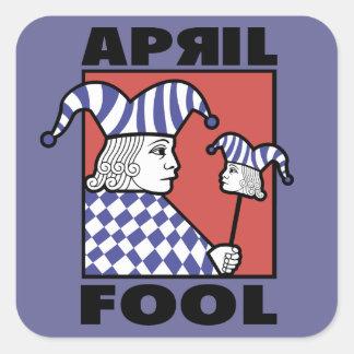April Fool Square Sticker