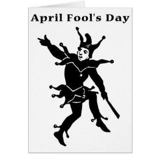 April Fools' Day Greeting Card