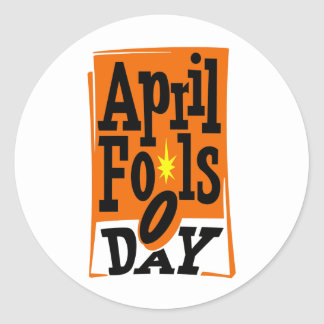 April Fools Day Stickers