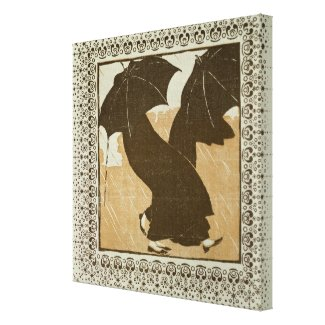 April Gallery Wrapped Canvas