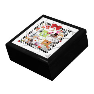 April in Paris Large Square Gift Box