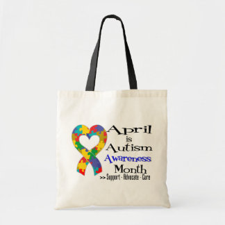 April is Autism Awareness Month Bags