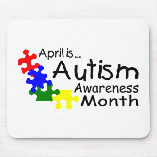 April Is Autism Awareness Month (PP) Mouse Pad