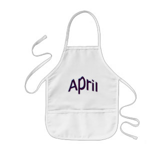 April Kids Apron