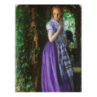 April Love - Arthur Hughes Postcard