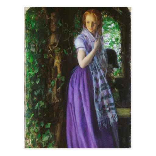April Love - Arthur Hughes Post Cards