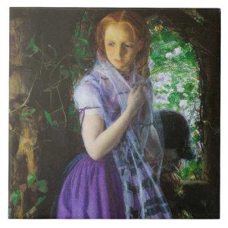 April Love by Arthur Hughes Tile