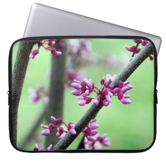 April Redbud Laptop Sleeve