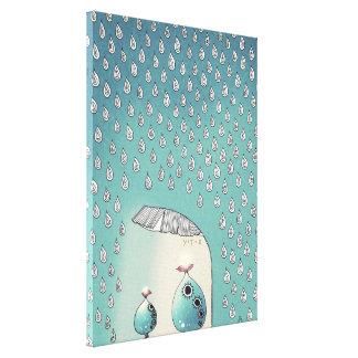 April Shower 2012 Canvas Print