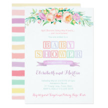 April showers bring may flowers cards invitations zazzle filmwisefo