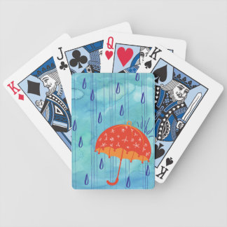 April Showers Playing Cards