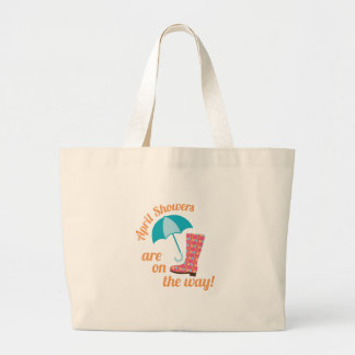 April Showers Jumbo Tote Bag
