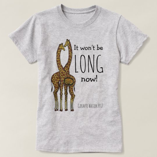 April the Pregnant Giraffe T-Shirt